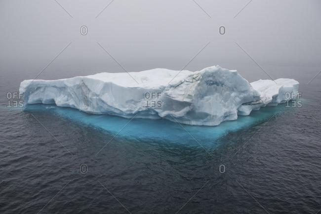 Glacier in the Arctic Ocean