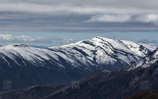 Scenic View Of Mountains At Cerro Catedral In Argentina