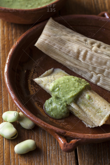 Fava Beans tamales