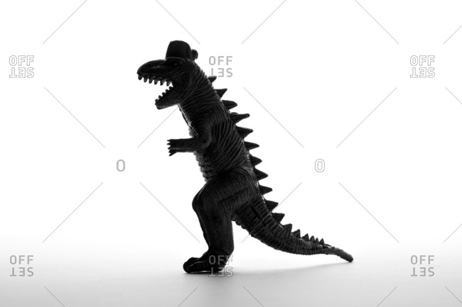 Silhouette of a Tyrannosaurus Rex