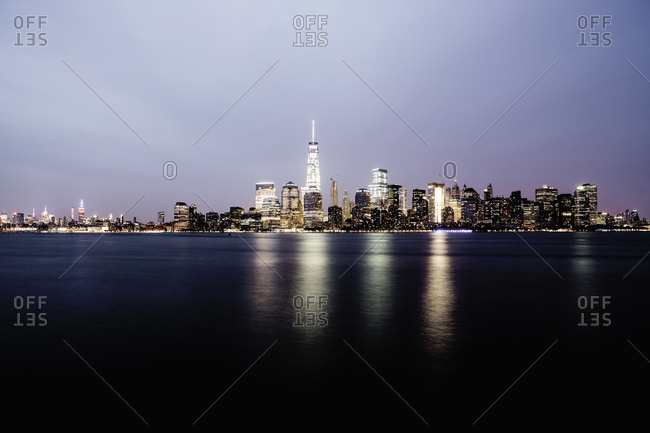 View of Manhattan with the One World Trade Center