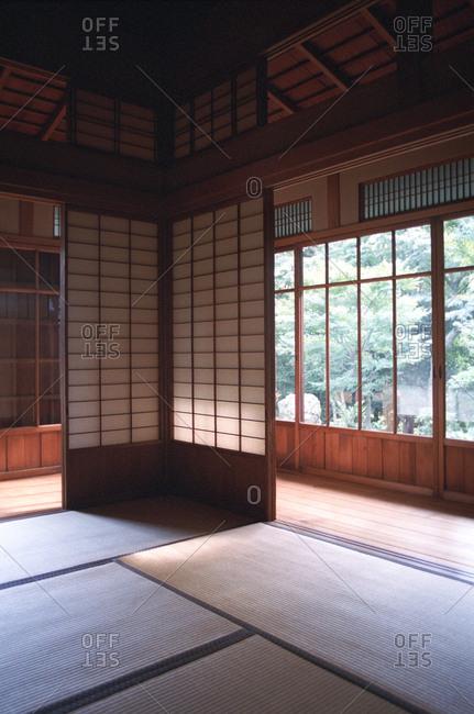 Kyu Asakura house, traditional home turned museum in Tokyo, Japan