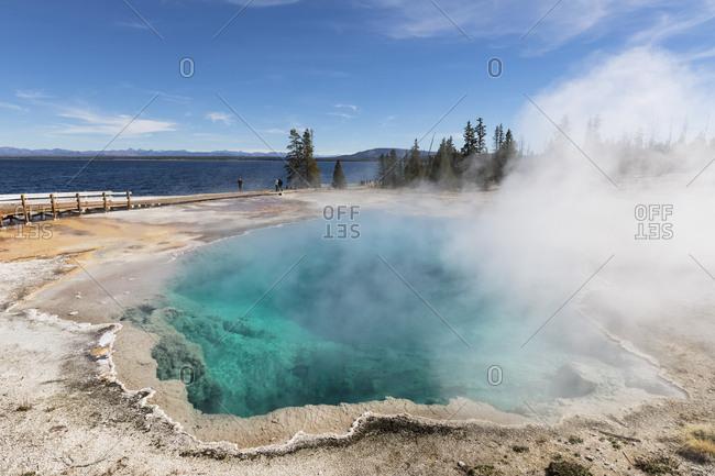 USA- Yellowstone National Park- West Thumb Geyser Basin- Black Pool