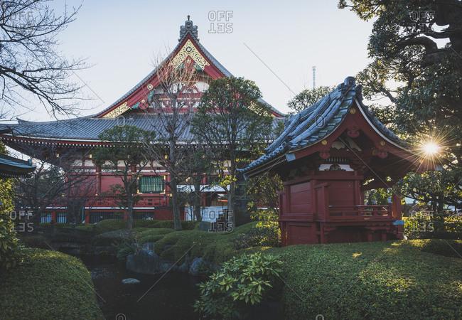 Japan- Tokyo- Asakusa- Senso-ji temple