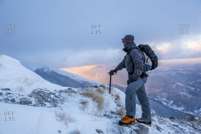 Italy- Marche- Apennines- Hiking in Winter