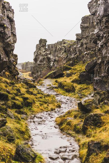 Pingvellir National park, Southern region, Iceland