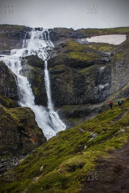 Waterfall, iceland, Europe
