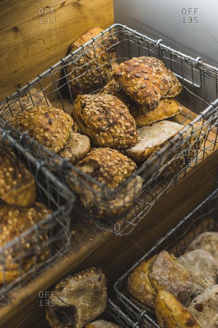 Icelandic bakery, Reykjavik, Iceland, Europe