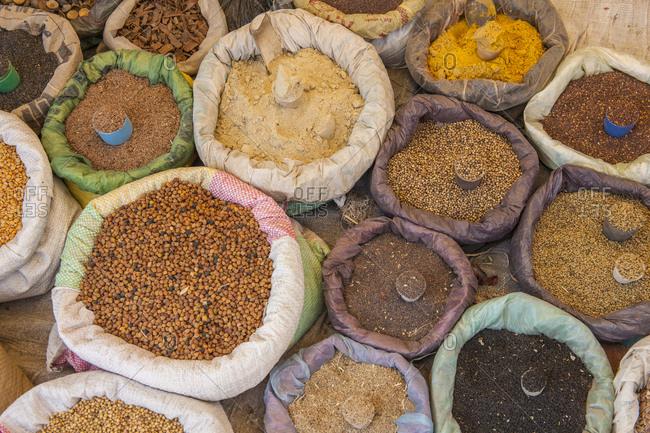 Ethiopia, Welo, Asayta . daily market of Asayta