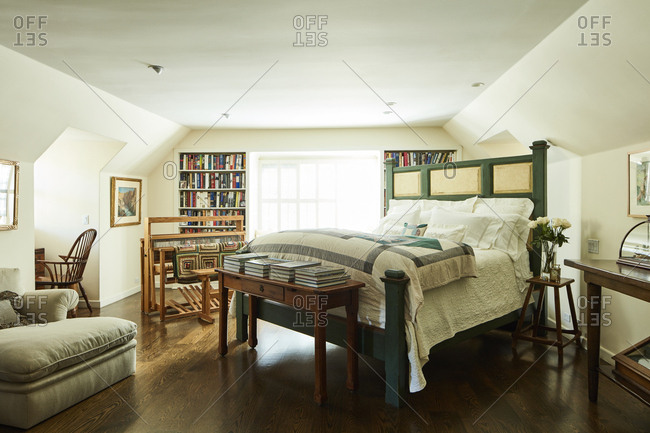 January 2 2015 Los Angeles California Cottage Style Bedroom