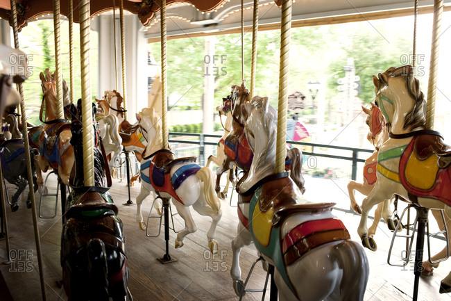 Carousel at a fairground