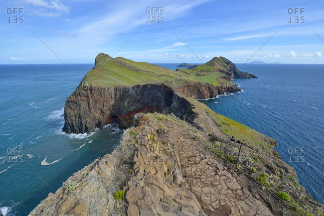 Portugal- Madeira- nature reserve Ponta de Sao Lourenco- peninsula on the east coast