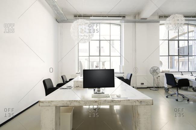 Interior of a modern agency office