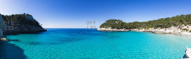 Spain- Menorca- Cala Mitjana - Offset