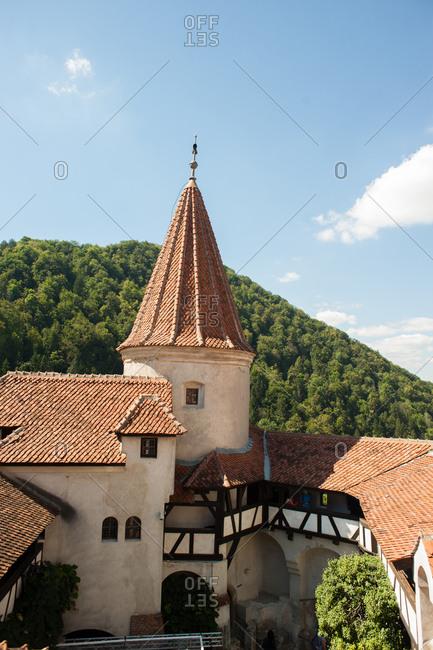 Bran, Romania - July 22, 2015: Bran Castle