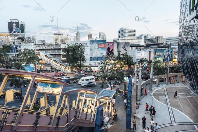 Bangkok, Thailand - November 15, 2010: Siam center