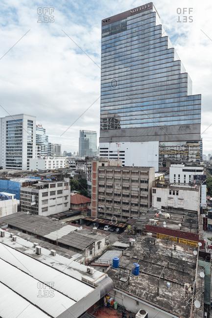Bangkok, Thailand - November 16, 2010: Slum view