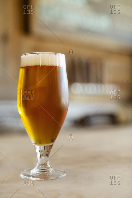 Glass of beer - Offset Collection