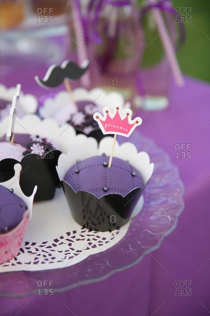 Cupcakes with fun design