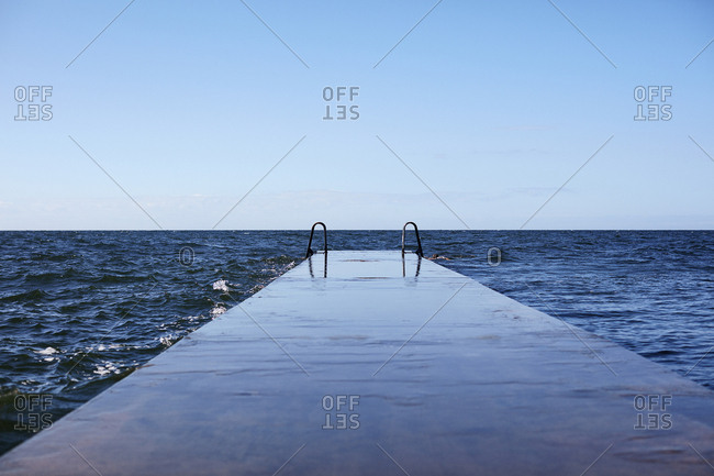 Sweden, Gotaland, Visby, Scenic seascape
