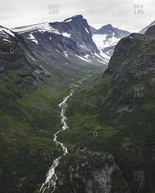 Norway, Jotunheimen mountain range - Offset