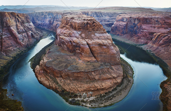 USA, Arizona, Colorado River and Horseshoe Bend