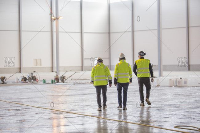 Sweden, Three engineers at work
