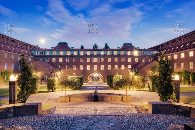 Sweden, Stockholm, Ostermalm, Kungliga Tekniska hogskolan (Royal Institute of Technology)