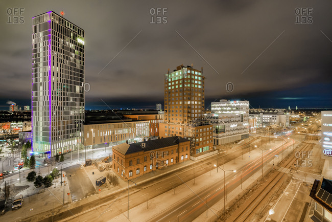 Sweden, Malmo - December 19, 2016: Malmo Live building