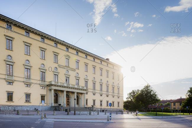 Sweden, Uppland, Uppsala, Building of University Library