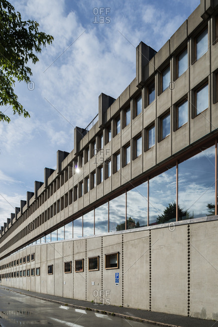 Sweden, Uppland, Stockholm, Djurgarden, Filmhuset building