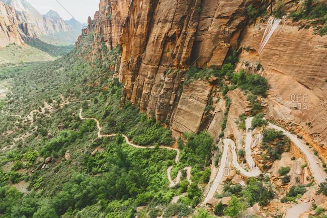 USA, Utah, Rocks in Zion National Park