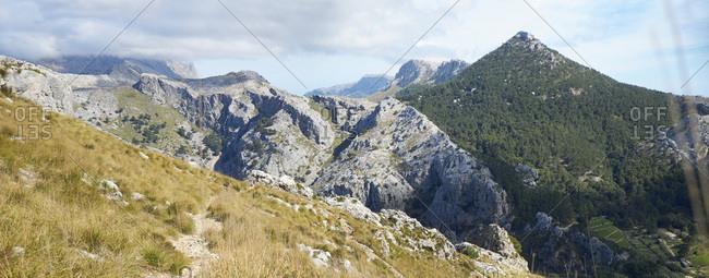 Spain - Majorca - Soller - Serra de Tramuntana - pilgrims' path through torrent
