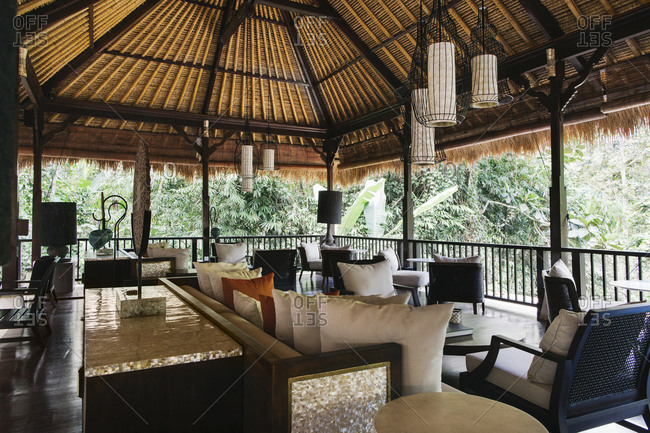 Indonesia - Bali - hotel lobby