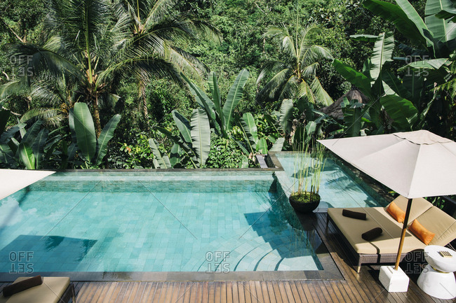 Indonesia - Bali - tropical swimming pool