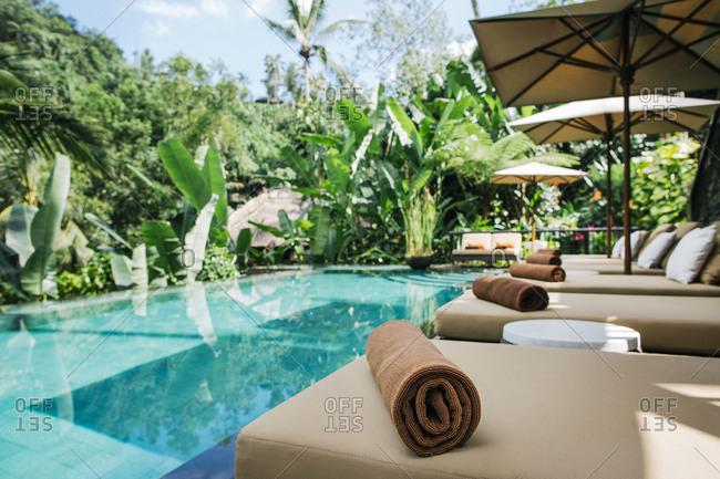 Indonesia - Bali - tropical swimming pool