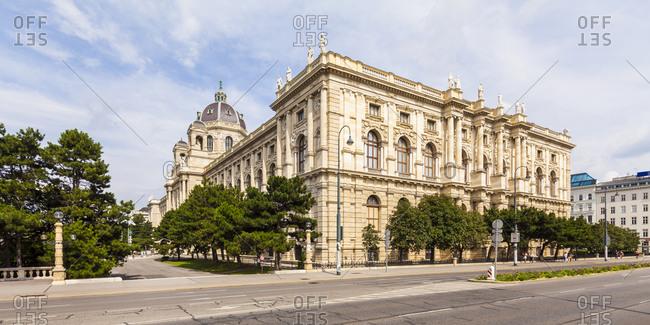 Austria, Vienna - July 28, 2016: Kunsthistorisches Museum