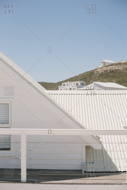 Rooftop deck on a house in Langebaan, South Africa