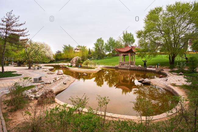 Nanshan Park, Xining, Qinghai China
