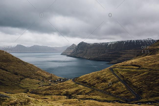 View of the Faroe Islands