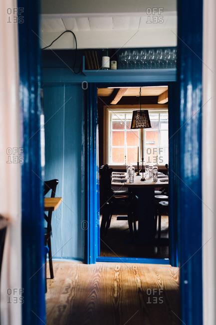 A cozy restaurant interior