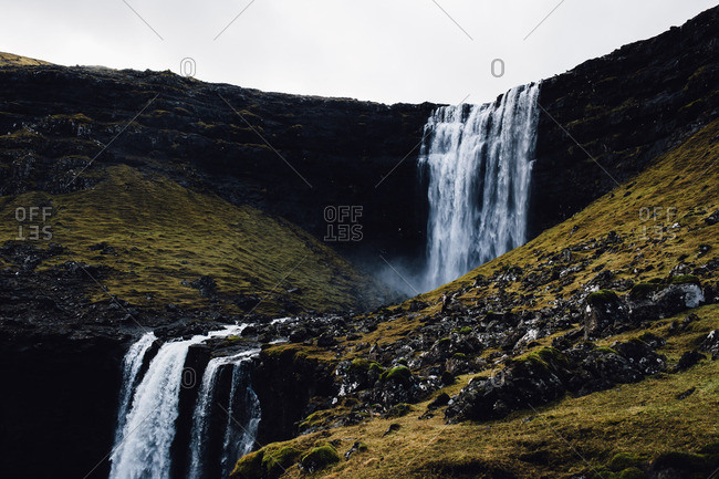 Cascade in the Faroe Islands