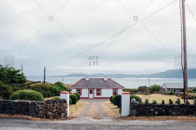 A home near the shore, Connemara, Ireland