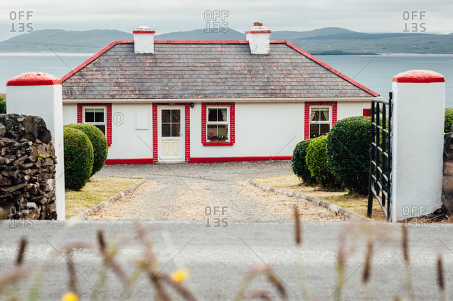 A house near the shore, Connemara, Ireland