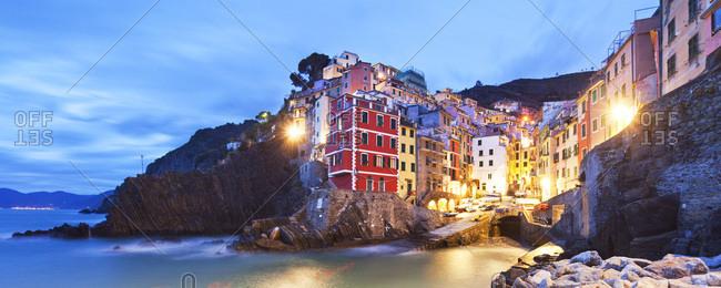 Italy, Liguria, La Spezia district, Riviera di Levante, Cinque Terre, Mediterranean sea, Ligurian sea, Ligurian Riviera, Parco Nazionale delle Cinque Terre, Riomaggiore