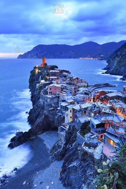 Italy, Liguria, La Spezia district, Riviera di Levante, Cinque Terre, Mediterranean sea, Ligurian sea, Ligurian Riviera, Parco Nazionale delle Cinque Terre, Vernazza