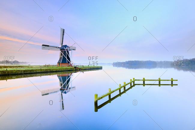 De Helper windmill in Groningen