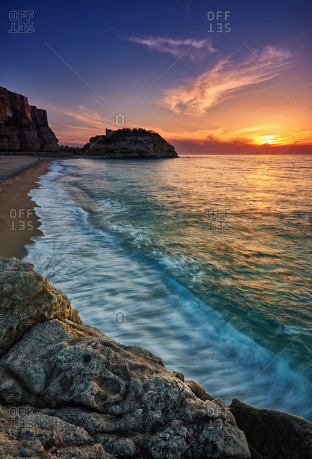 Sunset at Tropea