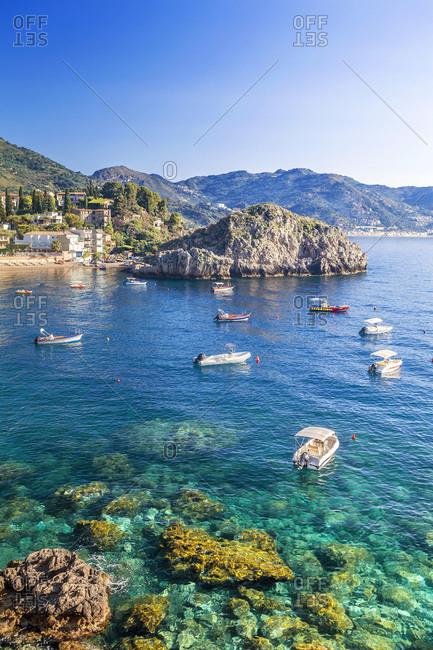 Sicily, Italy - July 27, 2016: Mazzar÷ bay