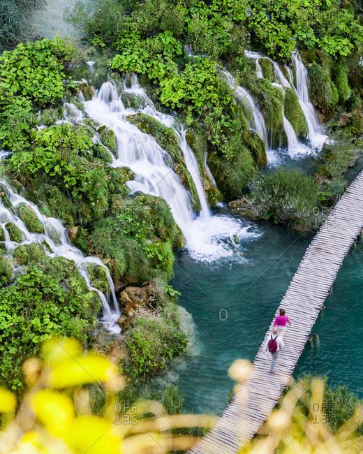 Croatia, Dalmatia, Plitvice lakes National Park